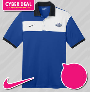 Nike Dri-Fit Sport Colorblock Polo (KA Tiger Logo Included)