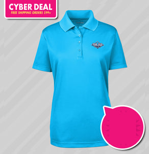 Ladies Core Performance Tech Polo (KA Tiger Logo Included)