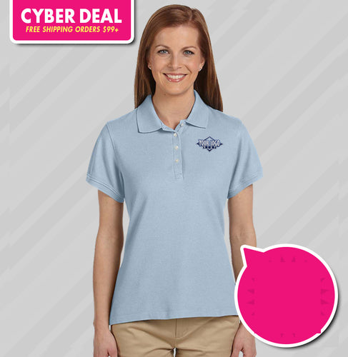 Chestnut Hill Ladies Performance Plus Pique Polo (KA Tiger Logo Included)