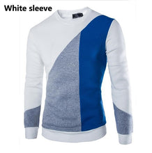 New 2016 Fashion Patchwork Sweater O-Neck Autumn Winter Pullovers Knitted Sweater Men Top Quality Brand Clothing