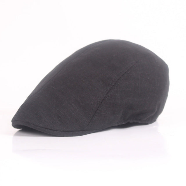 Hot New Beret Chrismas Gifts Winter Mens Berets Baker Boy Peaked News Boy Country Outwears Hat Beret Men Flat Cap For Male
