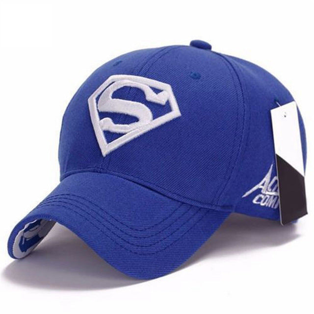 ... Men Women Unisex Snapback Adjustable Fit Baseball Cap Superman Hip-hop  Stretch Hat ... 66a3a540e82