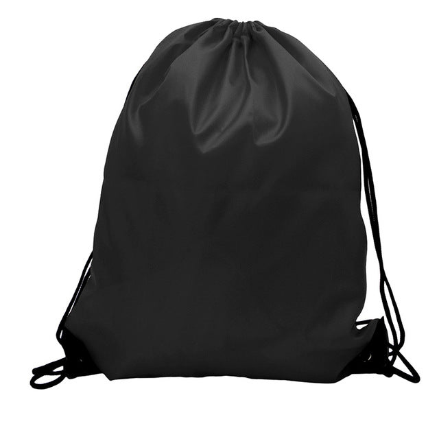 Drawstring Cinch Sack Sport Beach Travel Outdoor Backpack Bags Sport Gym School