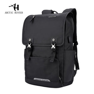 ARCTIC HUNTER Men's Backpack Bag External USB Charge Brand 15.6Inch Laptop Notebook Backpack Male Waterproof backpack Back Pack