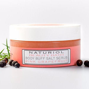 Body Buff Salt Scrub (Pink Grapefruit)