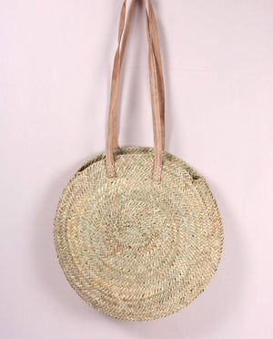 Round Sienna Shopper Basket