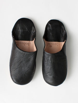 Bohemia - Women's Moroccan Leather Slippers