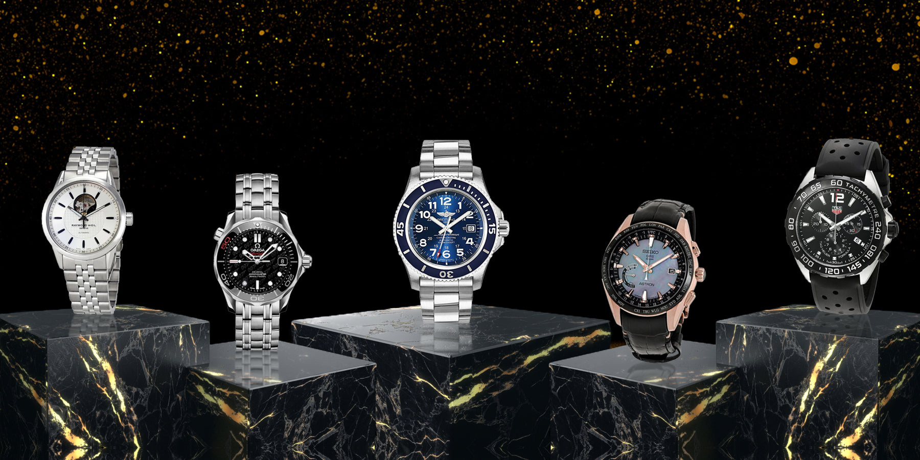 Top Five Men's Luxury Watches For the Holidays