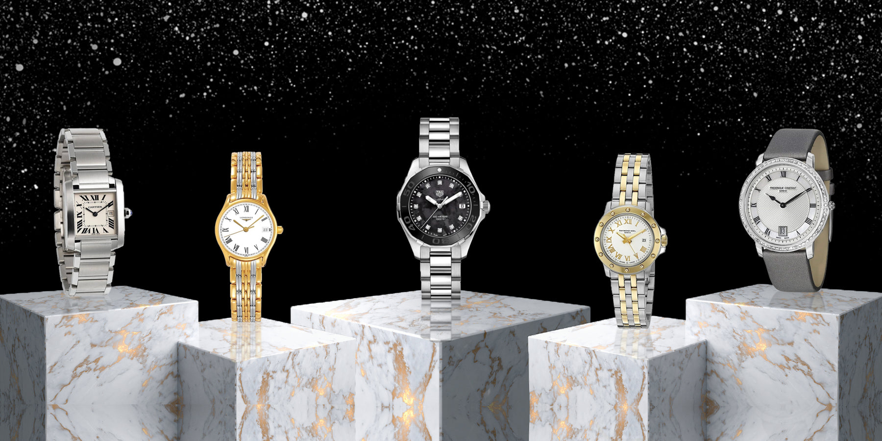 Top Five Women's Luxury Watches for the Holidays
