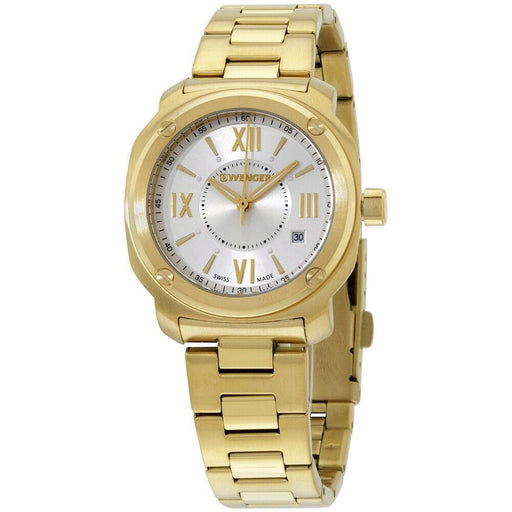 Wenger Women's 01.1121.113 Wenger Gold-Tone Stainless Steel Watch