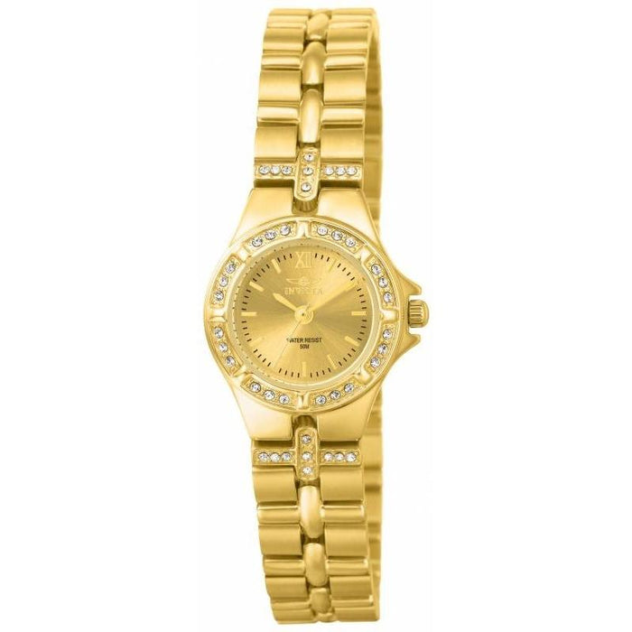 Invicta Women's 0134 Wildflower Gold-Tone Stainless Steel Watch