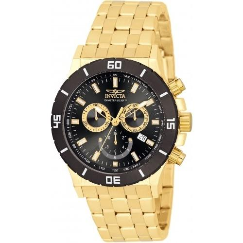 Invicta Men's 0392 Chronograph Gold-Tone Stainless Steel Watch