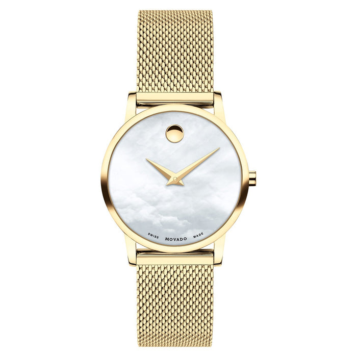 Movado Women's 0607351 Museum Classic Gold-Tone Stainless Steel Watch
