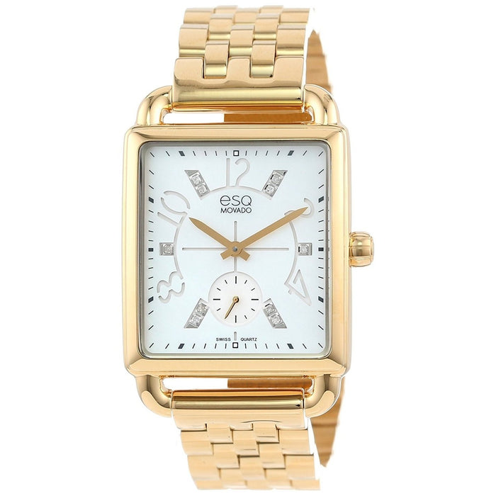 ESQ By Movado Women's 07101415 Origin Diamond Gold-Tone Stainless Steel Watch