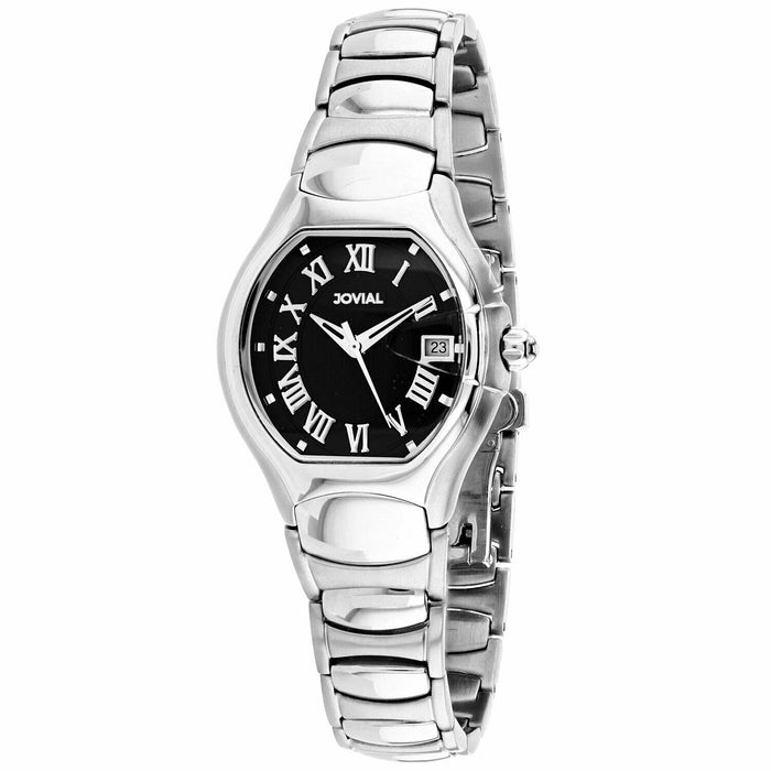 Jovial Women's 08031-LSM-04 Classic Stainless Steel Watch