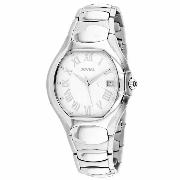 Jovial Men's 08031-MSM-01 Classic Stainless Steel Watch