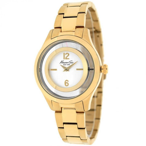 Kenneth Cole Women's 10026946 Classic Gold-Tone Stainless Steel Watch