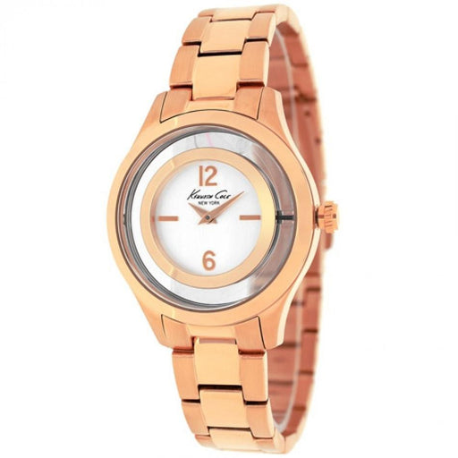 Kenneth Cole Women's 10026947 Classic Rose-Tone Stainless Steel Watch