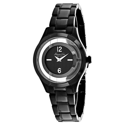 Kenneth Cole Women's 10026948 Classic Black Stainless Steel Watch