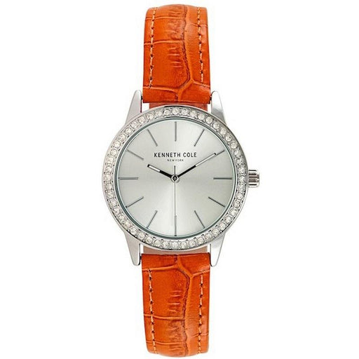 Kenneth Cole Women's 10031485 Classic Orange Leathrer Watch