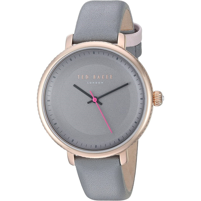 Ted Baker Women's 10031534 Isla Grey Leather Watch