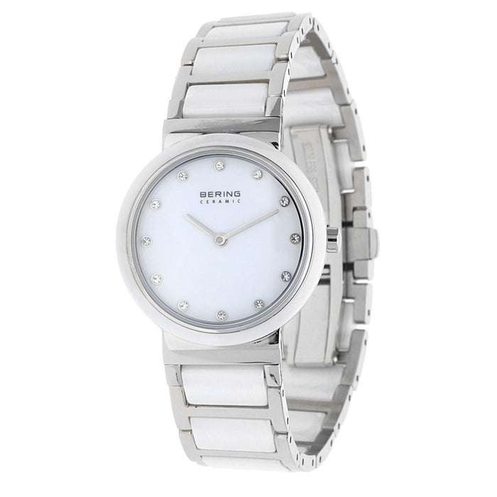 Bering Women's 10729-754 Ceramic Crystal Two-Tone Stainless steel and Ceramic Watch