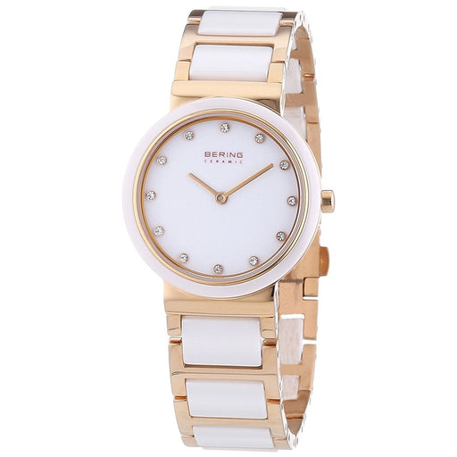 Bering Women's 10729-766 Ceramic Crystal Two-Tone Stainless steel and Ceramic Watch
