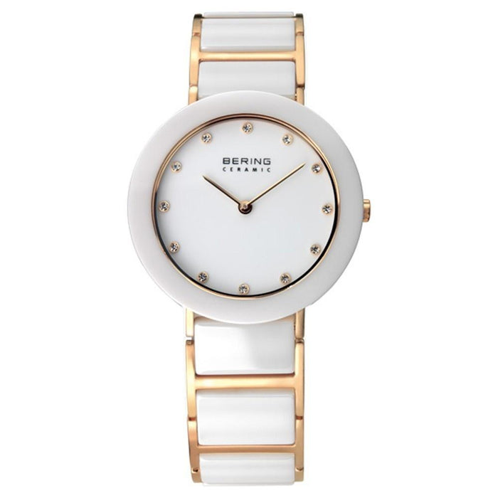 Bering Women's 11429-751 Ceramic Crystal Two-Tone Stainless steel and Ceramic Watch