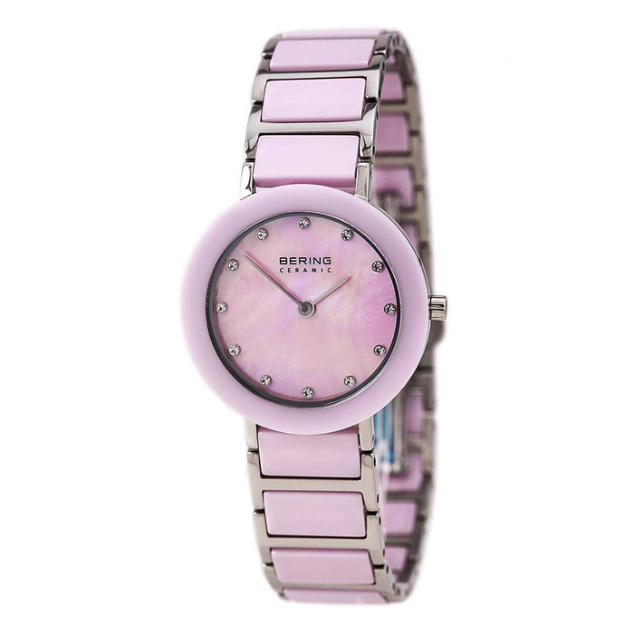Bering Women's 11429-999 Ceramic Crystal Two-Tone Stainless steel and Ceramic Watch