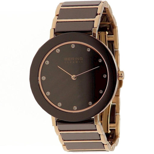 Bering Women's 11435-765 Ceramic Crystal Two-Tone Stainless steel and Ceramic Watch