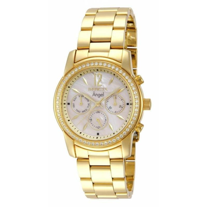 Invicta Women's 11772 Angel Chronograph  Gold-Tone Stainless Steel Watch