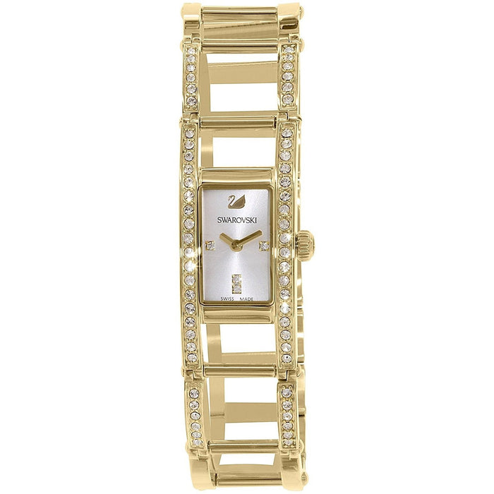Swarovski Women's 1186076 Indira Crystal Gold-Tone Stainless Steel Watch