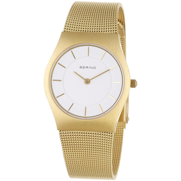 Bering Women's 11930-334 Classic Gold-Tone Stainless Steel Watch