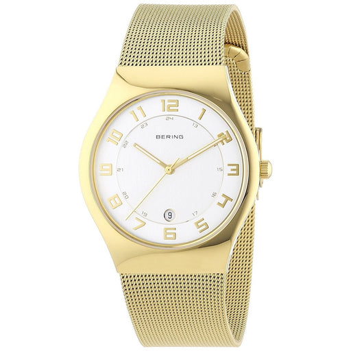 Bering Women's 11937-334 Classic Gold-Tone Stainless Steel Watch
