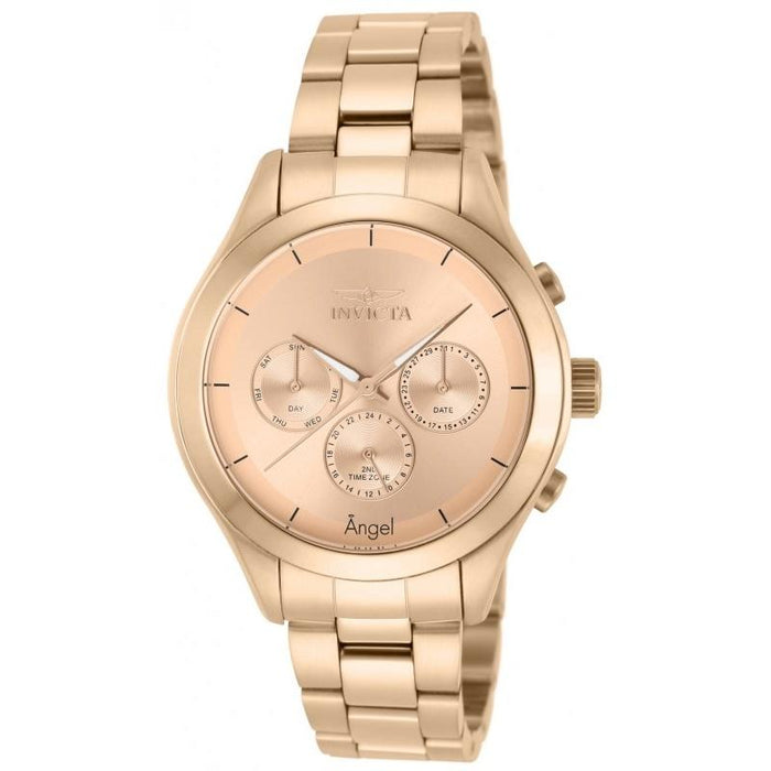Invicta Women's 12467 Angel Rose-Tone Stainless Steel Watch