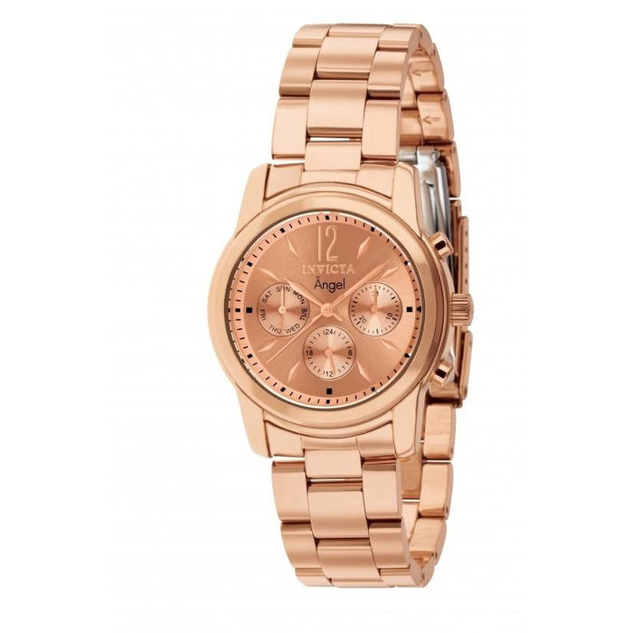 Invicta Women's 12509 Angel Chronograph Rose-Tone Stainless Steel Watch