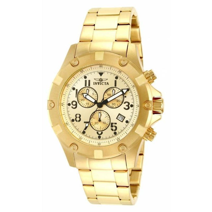 Invicta Men's 13619 Specialty Chronograph Gold-Tone Stainless Steel Watch