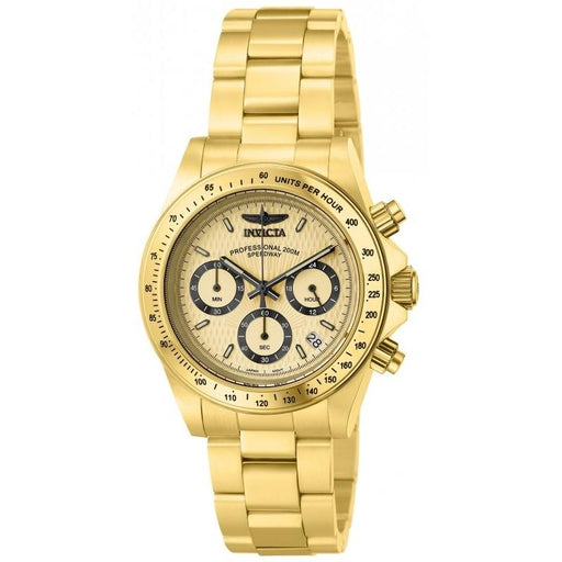 Invicta Men's 14929 Speedway Multi-Function Gold-tone Stainless Steel Watch