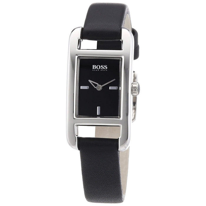 Hugo Boss Women's 1502337 Black Leather Watch