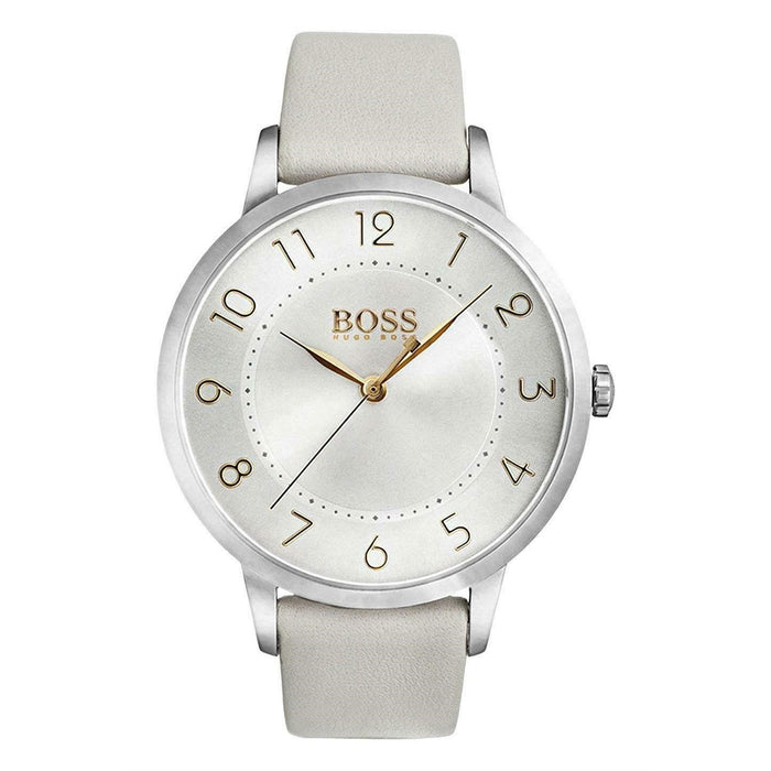Hugo Boss Women's 1502405 Eclipse White Leather Watch