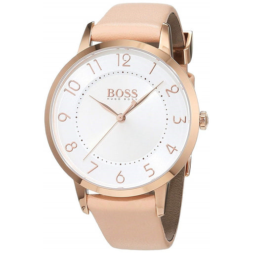 Hugo Boss Women's 1502407 Eclipse Pink Leather Watch