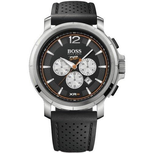 Hugo Boss Men's 1512455 Black Chronograph Black Rubber Watch