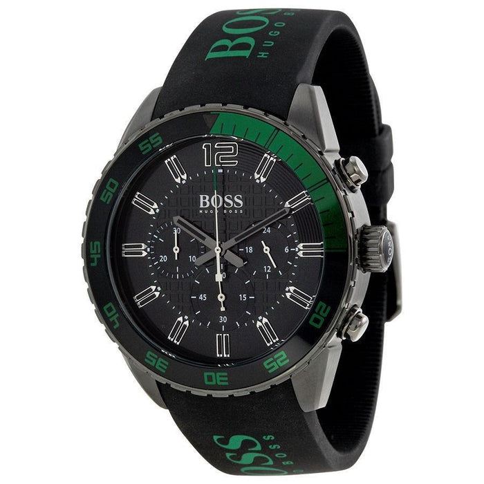 Hugo Boss Men's 1512847 Chronograph Black Silicone Watch