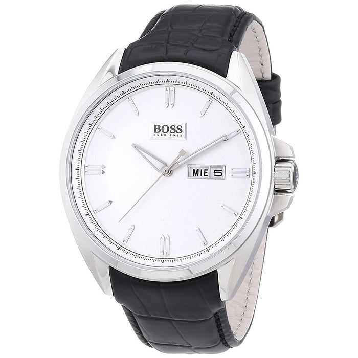Hugo Boss Men's 1512875 Classic Black Leather Watch