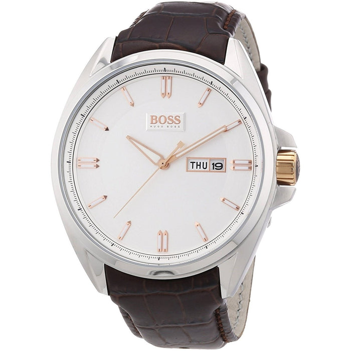 Hugo Boss Men's 1512876 Chronograph Brown Leather Watch