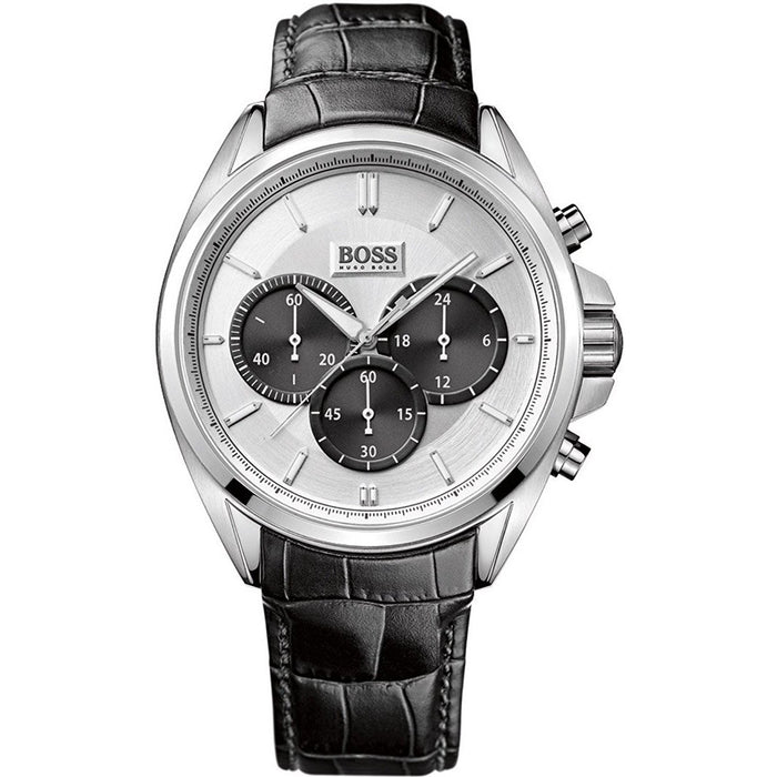Hugo Boss Men's 1512880 Chronograph Black Leather Watch