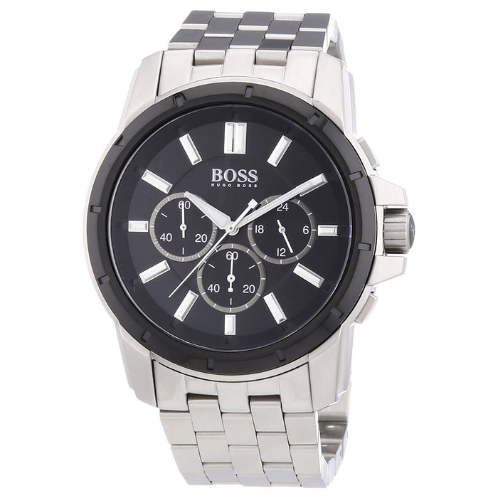 Hugo Boss Men's 1512928 Orange Multi-Function Stainless Steel Watch
