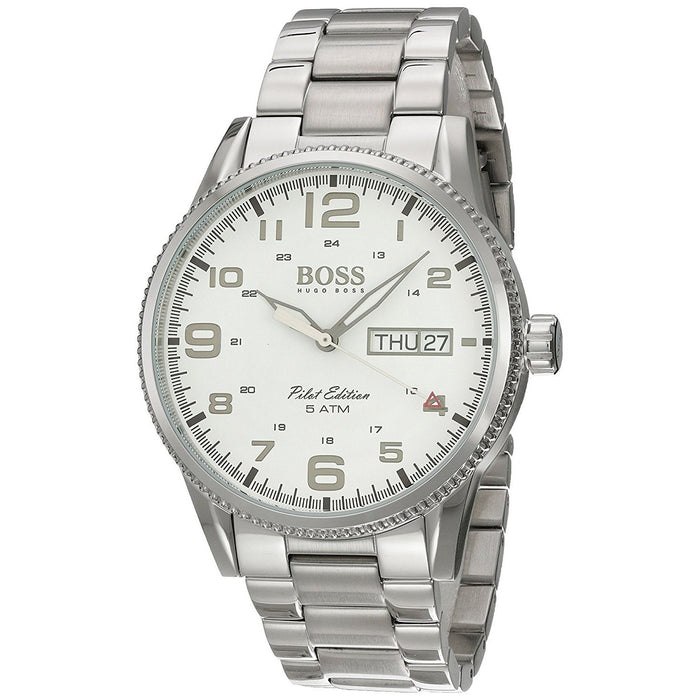 Hugo Boss Men's 1513328 Pilot Stainless Steel Watch