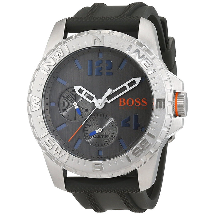 Hugo Boss Men's 1513412 Cape Town Multi-Function Black Rubber Watch