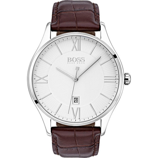 Hugo Boss Men's 1513555 Governor Brown Leather Watch